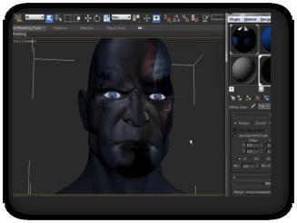 Creando un personaje virtual 3D - Kratos de PS3 curso en linea wedubox