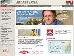 Opencourseware es la plataforma virtual que cuenta con mayor cantidad de cursos y universidades creando contenido