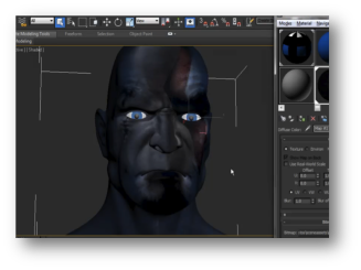 Creando un personaje virtual 3D - Kratos de PS3 curso en linea wedubox